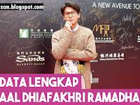 Biodata Lengkap Iqbaal Dhiafakhri Ramadhan