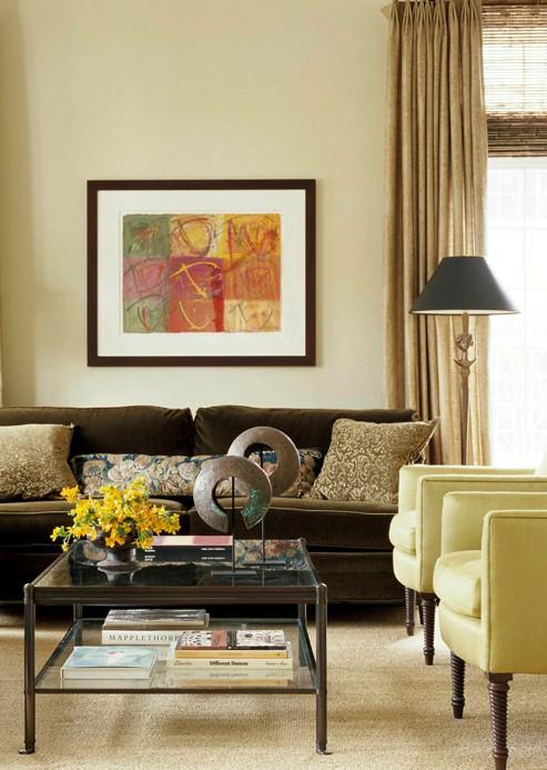 New Home Interior Design: Decorating Gallery: Living ...