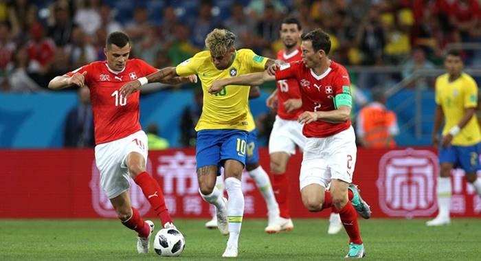 Hasil Brasil vs Swiss - Piala Dunia 2018 Grup E