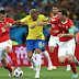 Hasil Statistik Pertandingan Brasil vs Swiss - Piala Dunia 2018 Grup E