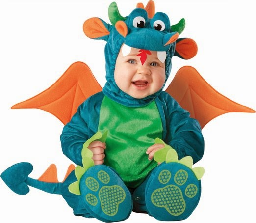Infant Unisex Baby Dragon Costume