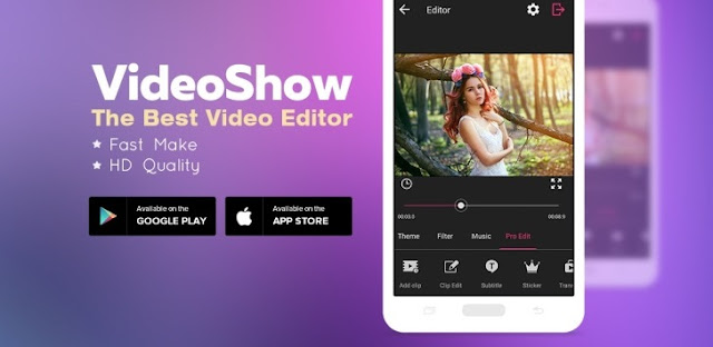 تحميل تطبيق  VideoShow Pro-Video Editor v6.7.7 مدفوع للاندرويد