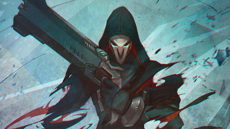 Reaper Overwatch 4k Wallpaper 263