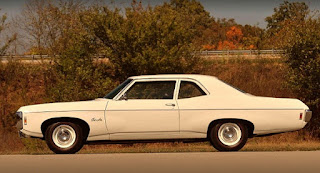 1969 Chevrolet Bel Air Sport Coupe L-72 Side Left