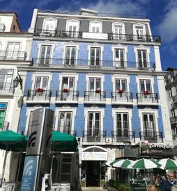 Edificio de azulejos de Lisboa. Foto de Teresa Rey.