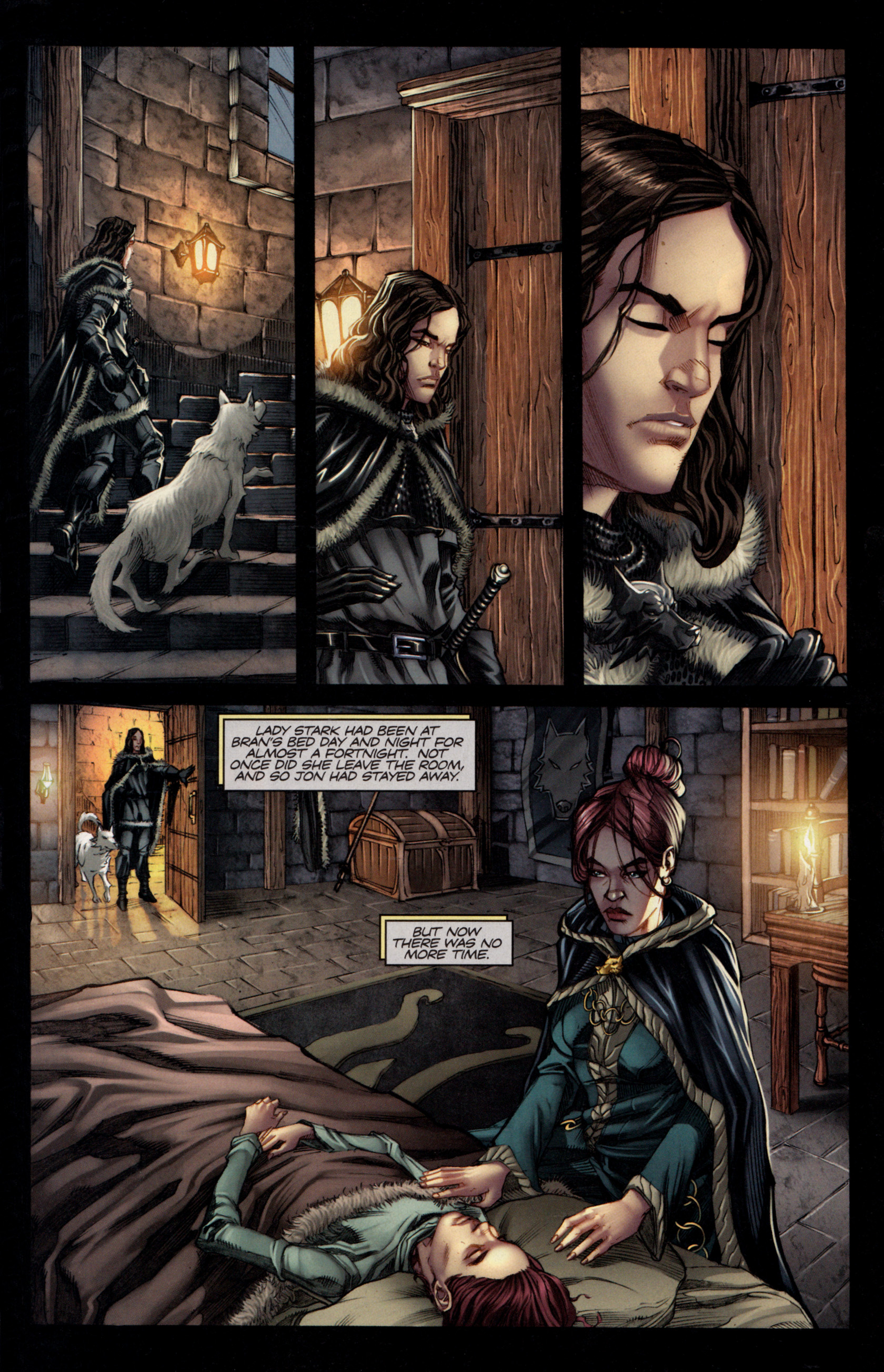 Read online A Game Of Thrones comic -  Issue #4 - 3