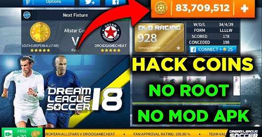 How To Hack Dream League Soccer 2018 Coins | DLS 18 Hack