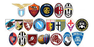 Football games carrier frequencies and channels for the Italian Calcio League Serie A