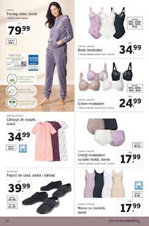 CATALOG LIDL 3 ianuarie - 6 ianuarie 2019 pijamale dama