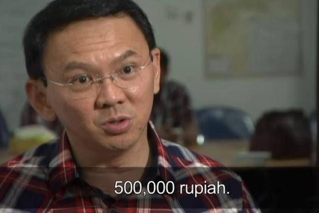 Ahok Tuding Demonstran 411 Dibayar Rp 500 Ribu