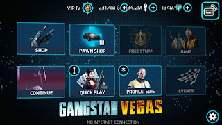 Gangstar Vegas v2.4.2c Mod Apk + Data (a lot of money)