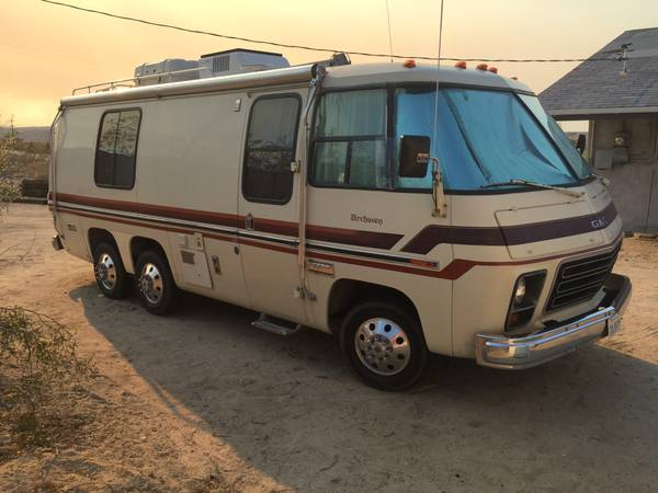 used rvs 1978 gmc birchaven motorhome for sale by owner. Black Bedroom Furniture Sets. Home Design Ideas