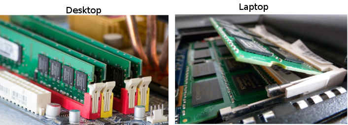 Mărirea memoriei RAM se face prin adaugarea unei noi plăcuțe sau inlocuirea uneia cu una mai performantă.