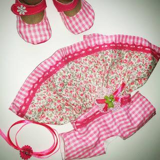 текстильная кукла-карамелька, одежда для куол