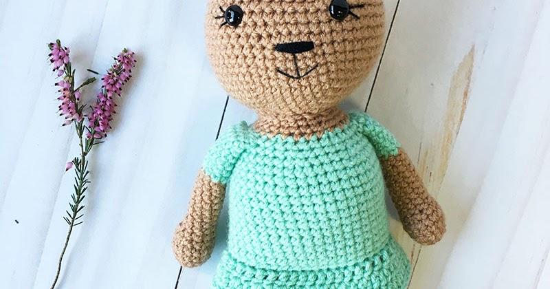Holly The Honey Bear A Free Crochet Pattern Grace And Yarn