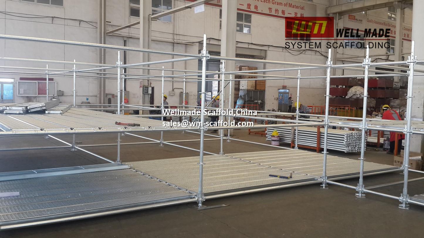 320mm Layher Allround Scaffold Deck for O ledger