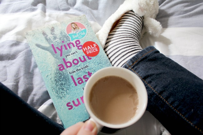 Book of the month (Feb 2017) - 'Lying About Last Summer' by Sue Wallman. Nourish ME: www.nourishmeblog.co.uk