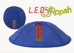 Light Up Kippah - LED Kippah Yarmulke