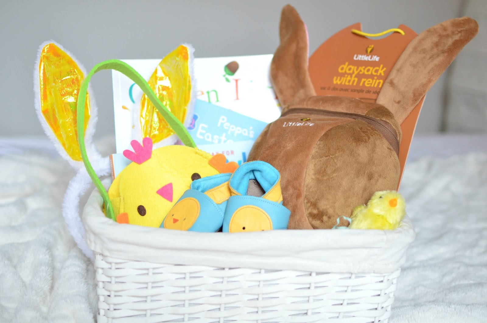 Whats in our baby boys easter basket giveaway oh little one they do some great deals on books 3 for 5 and they have lots of easter related ones in at the moment negle Choice Image
