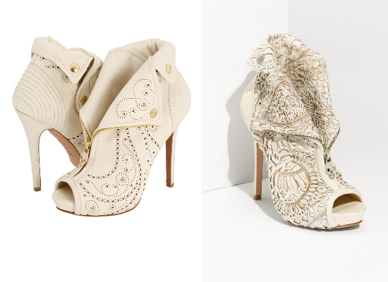 alternative bridal shoes, Alexander McQueen shoes
