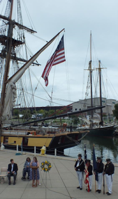 Battle of Lake Erie memorial event at Erie Maritime Museum