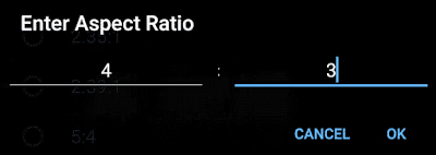 MX Player - How to Change Aspect Ratio/Width and Height of