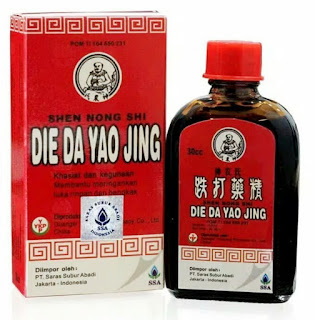jual die da yao jing obat luka cina di surabaya