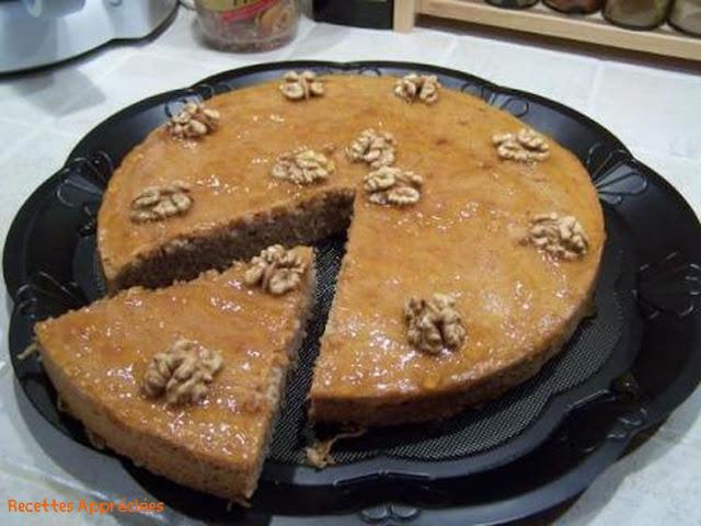 Recette Gâteau de Chocolat Aux Noix