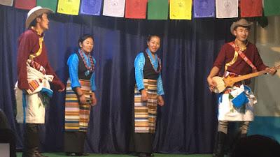 Festival para difundir la música y danza tibetana en el proyecto de India.