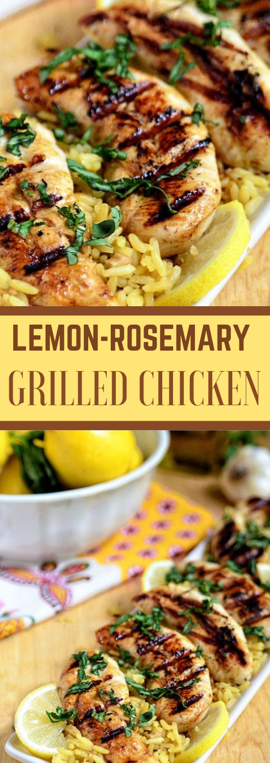 LEMON ROSEMARY GRILLED CHICKEN #healthyeating #delicious