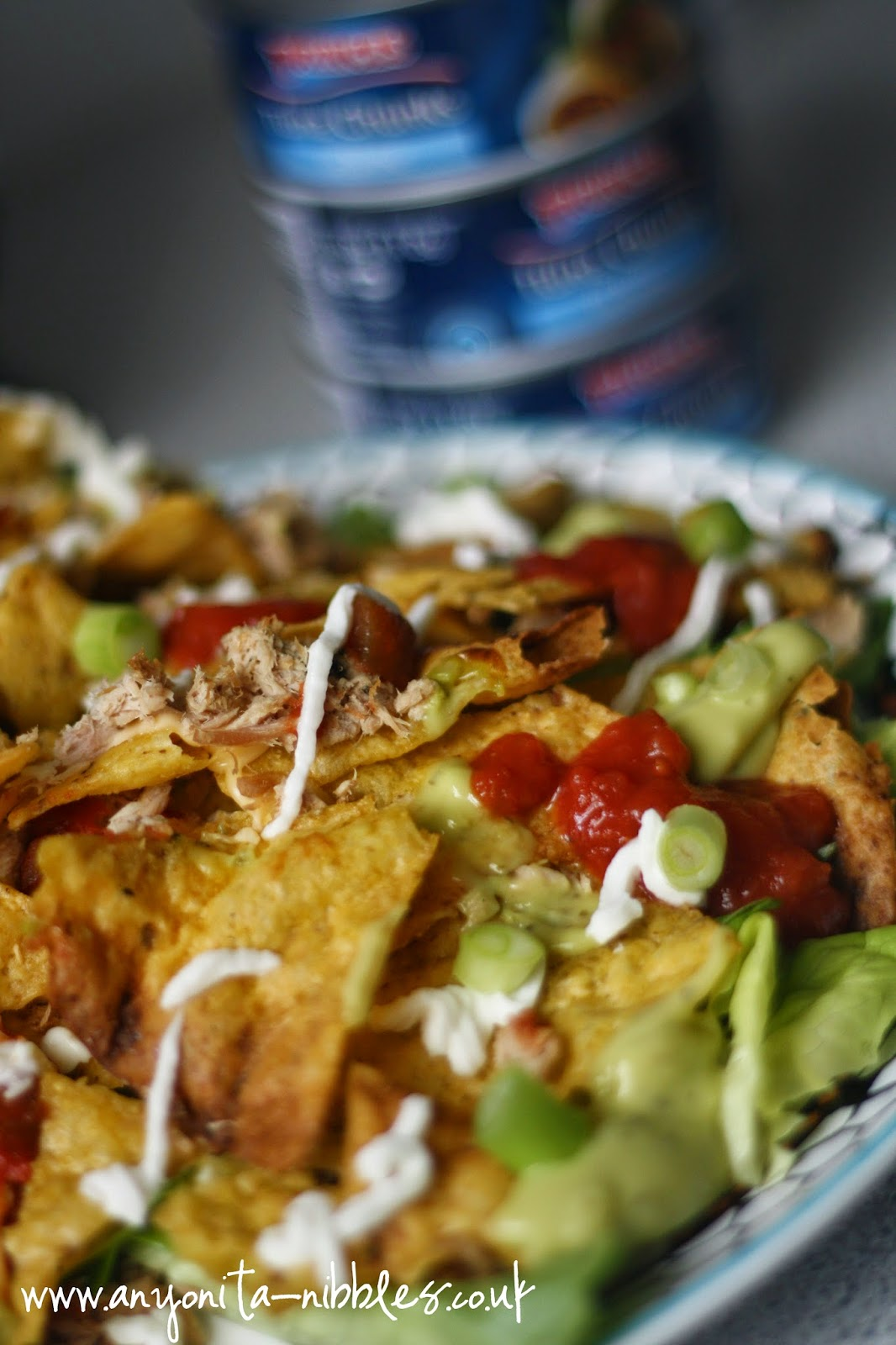 Tuna nacho chips from Princes and Anyonita-nibbles.co.uk