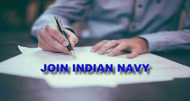 Indian Navy Job Alert 2019