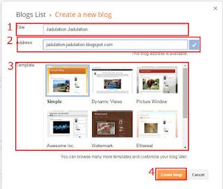 cara membuat blog 5