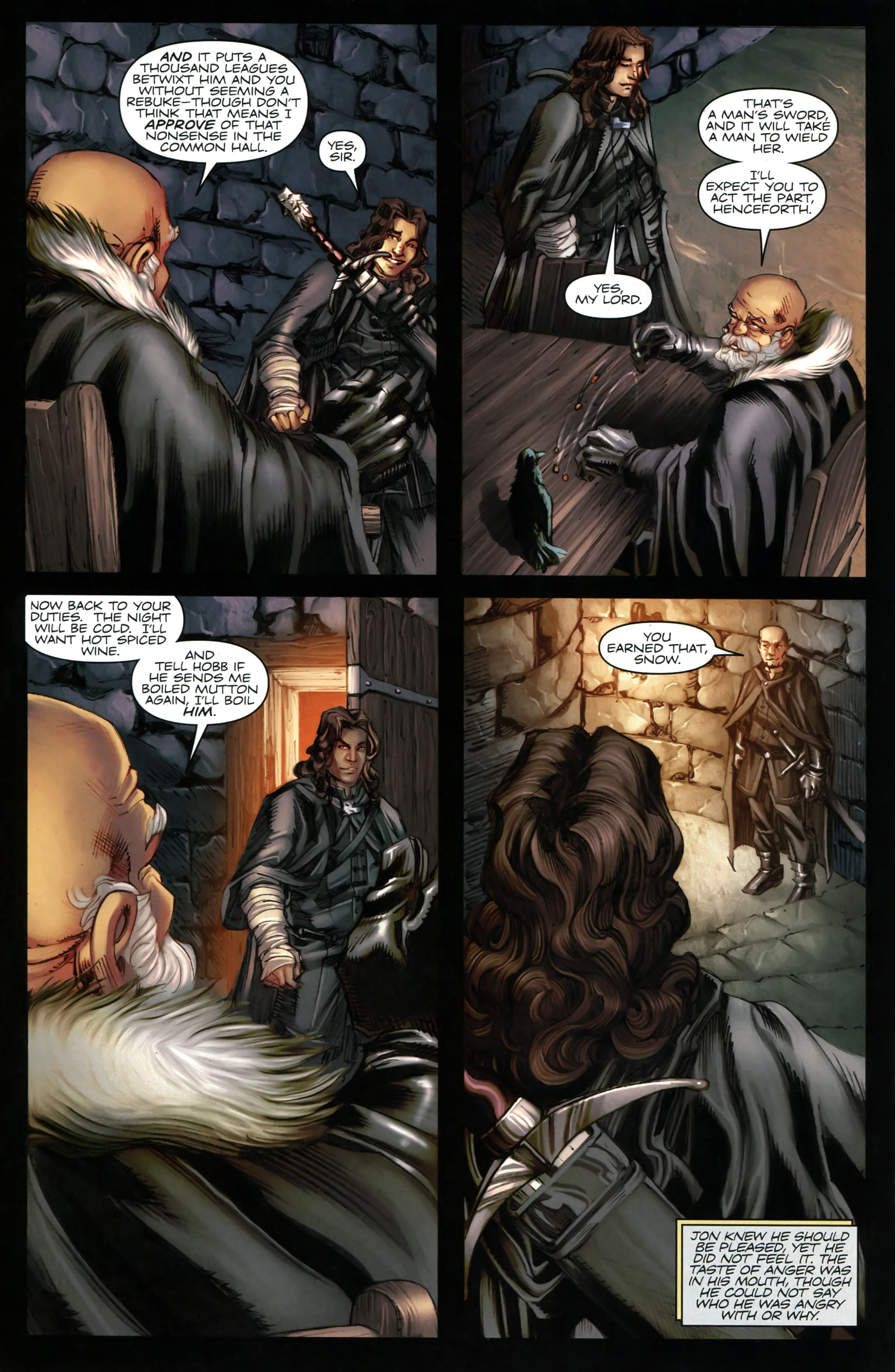 Read online A Game Of Thrones comic -  Issue #20 - 24