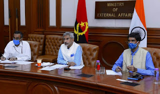 1st India-Angola Joint Commission Meet