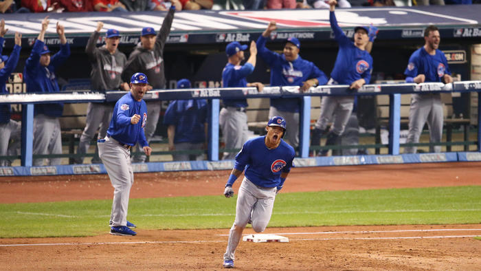 Cubs defeat Indians in game 6
