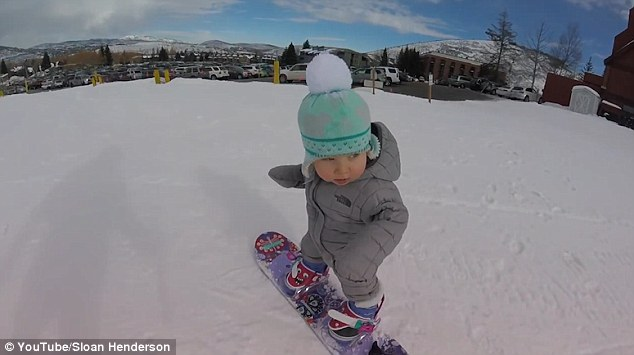 They Took Their 1-Year-Old Out In The Snow, And What She Did Is So Awesome