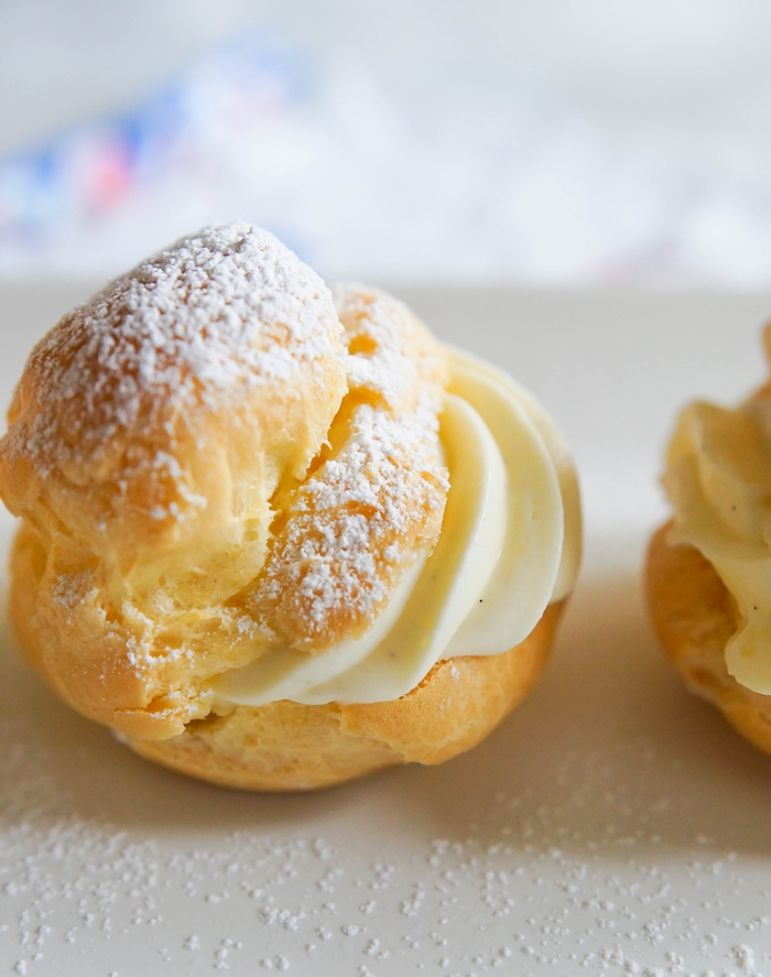 how to make cream puffs! | bakeat350.net for The Pioneer Woman Food & Friends
