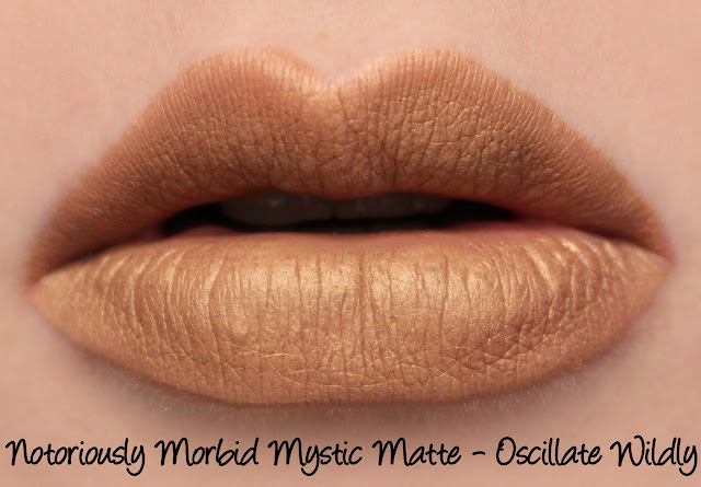Notoriously Morbid Mystic Matte - Oscillate Wildly Swatches & Review
