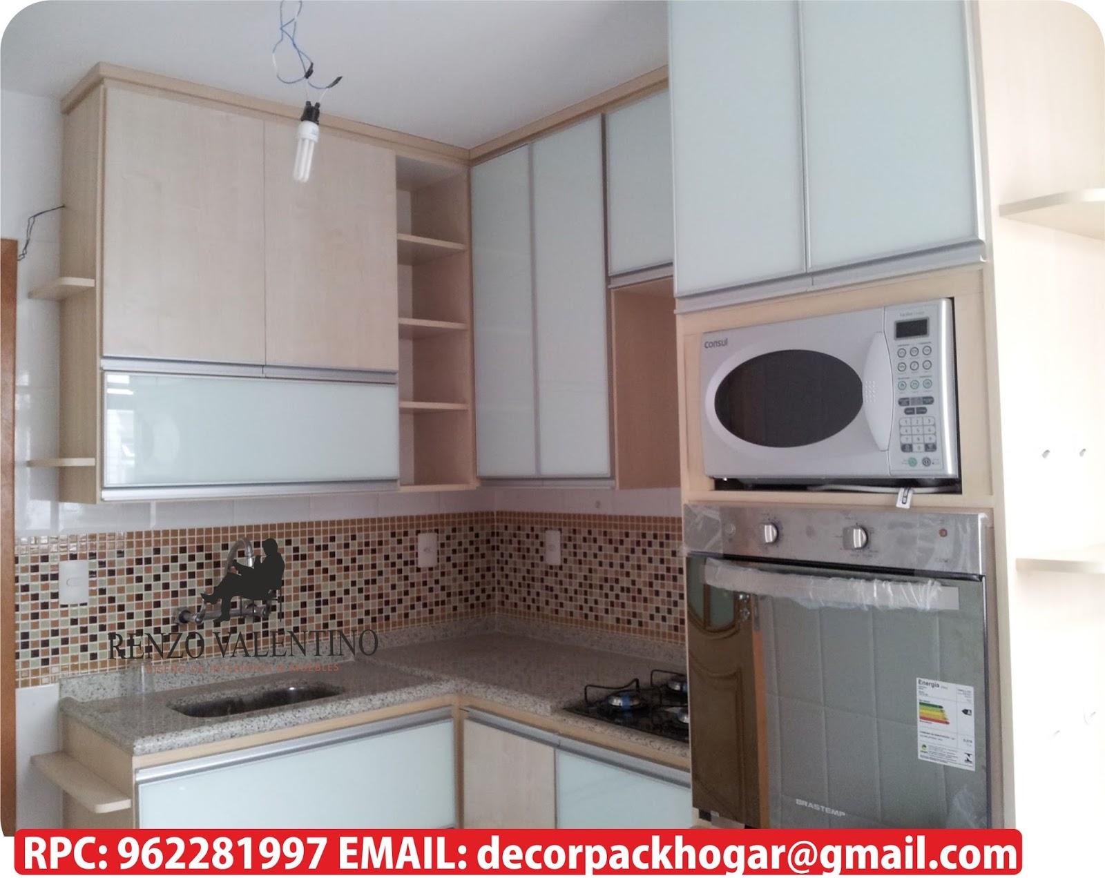 Dise os fabricacion de closet cocina y muebles de oficina - Muebles para cocina economica ...