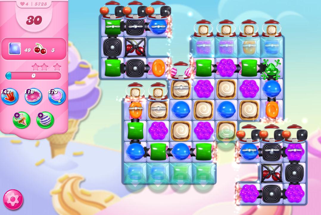 Candy Crush Saga level 5728