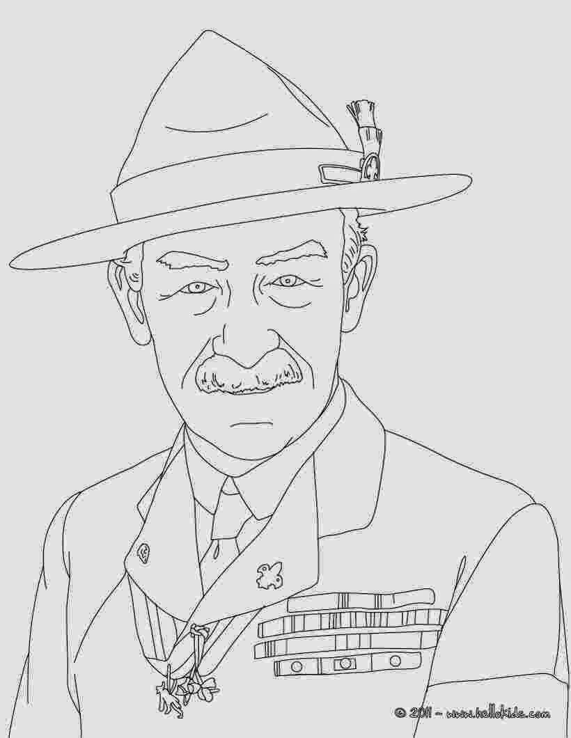 Kumpulan Gambar Sketsa Baden Powell Sketsa Gambar
