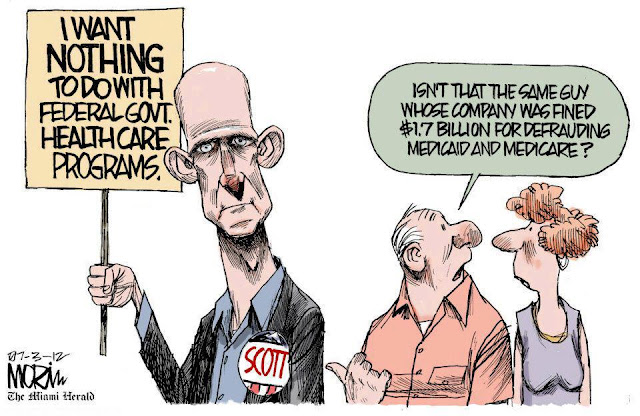 Rick Scott, largest fraud in Medicare/Medicaid history