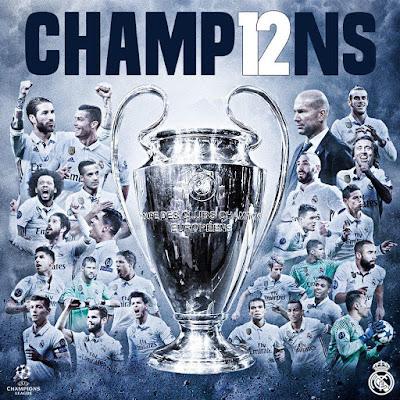 Champions 2017 Copa de Europa Real Madrid ganador winner