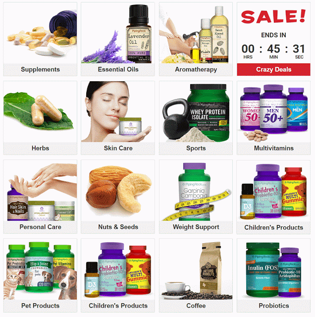 Piping Rock Products Promo Code
