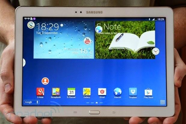 Harga Tablet Samsung Galaxy Note 10.1 Terbaru 2014