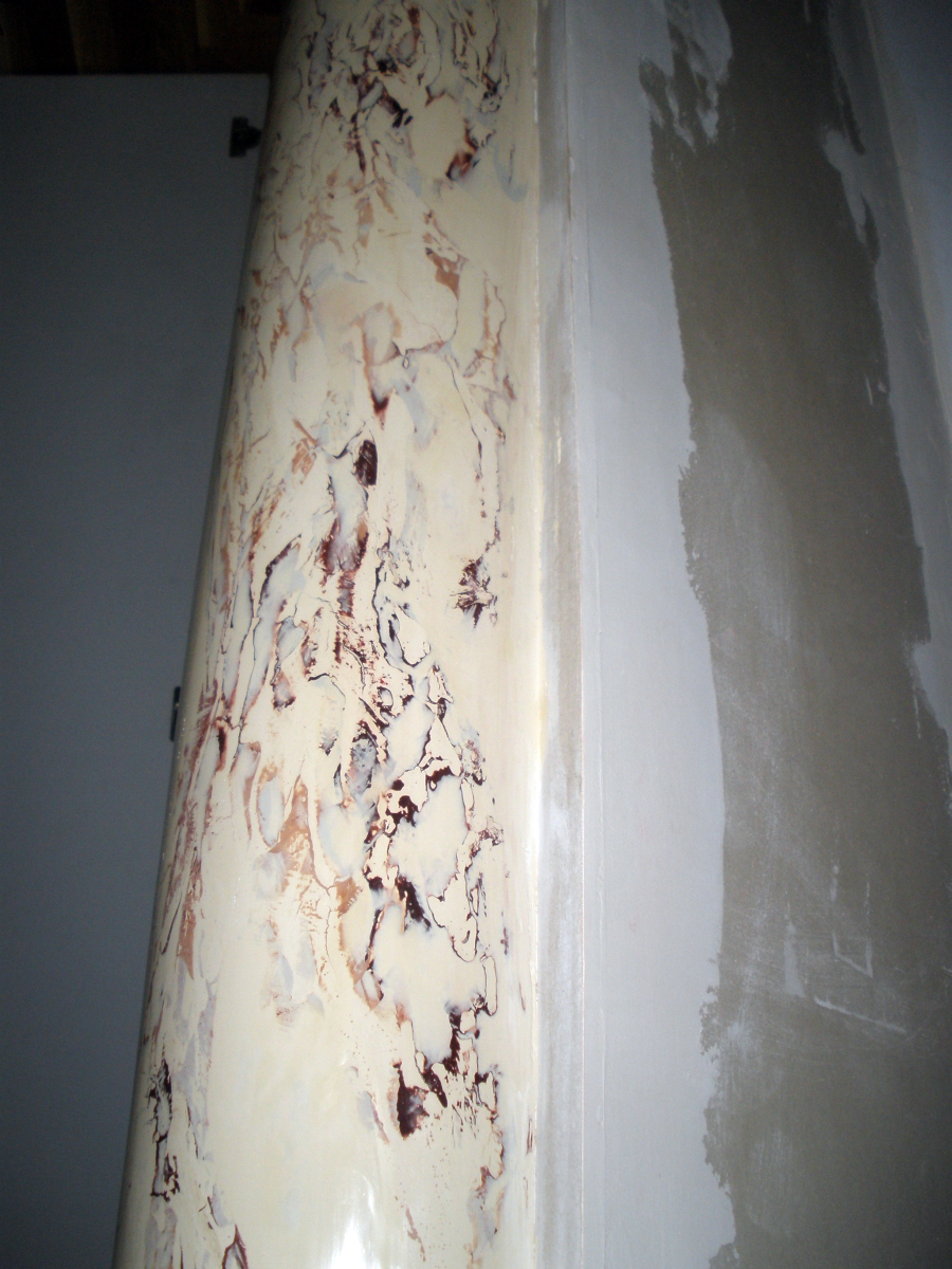 Bb Faux Finish Stucco Marble Pillars