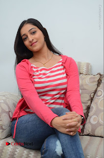 Telugu Actress Mouryani Latest Pos in Blue Denim Jeans  0140.JPG
