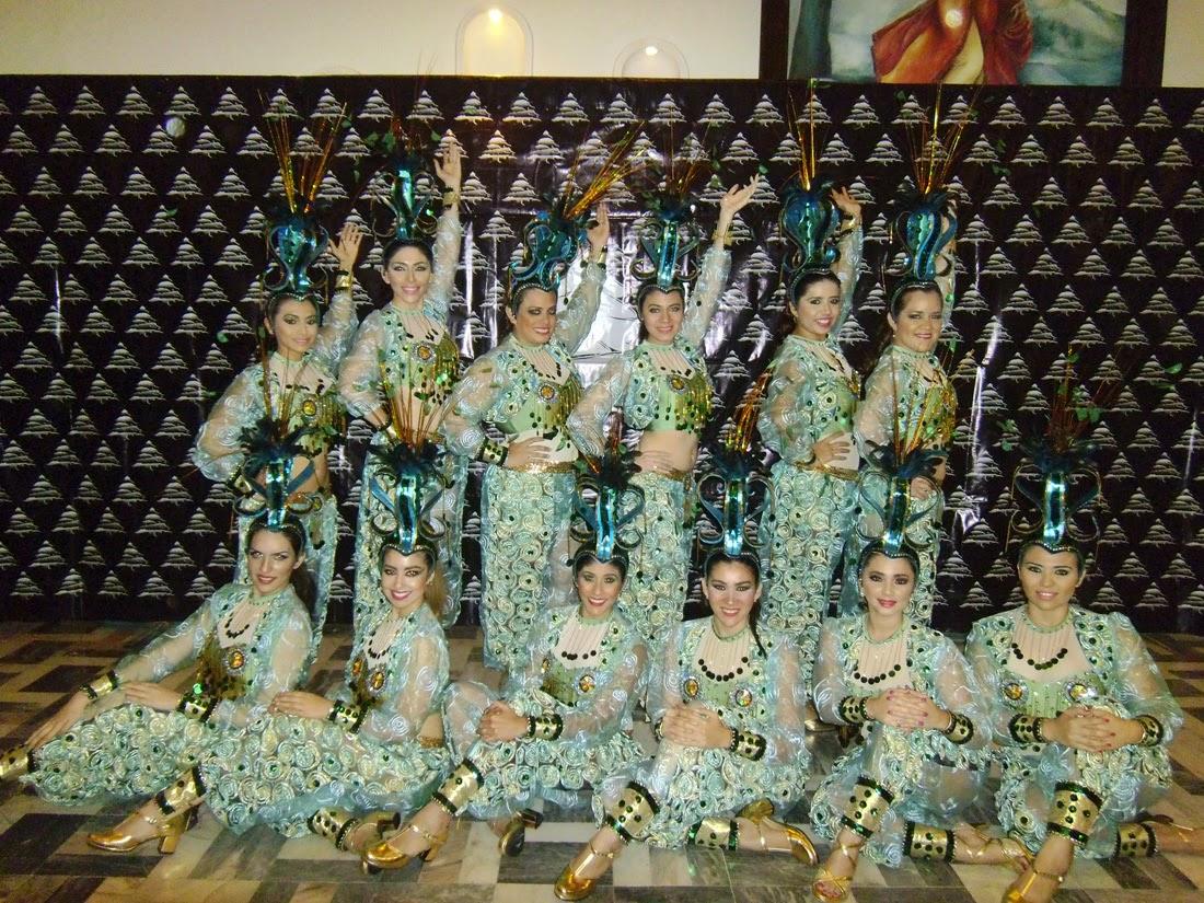 Celebran Colorido Carnaval De Damas En El Club Liban 233 S De