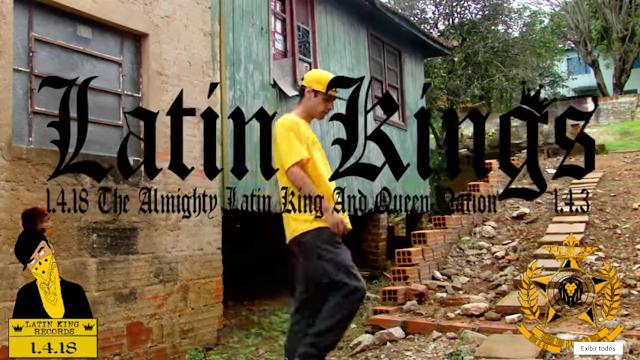 "King DeLaC lança o webclipe ""Della Famiglia Latin kings"""